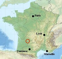 location map dordogne historic easy walking holiday